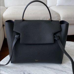 Celine Mini Belt Bag Black